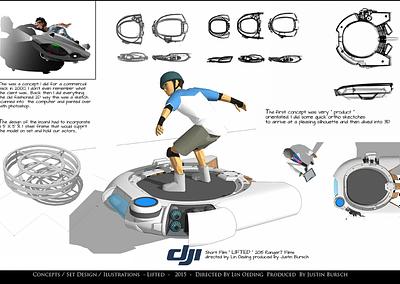 Concepts / Set Design / Illustrations - Lifted - 2015