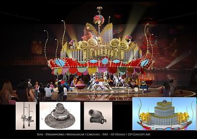 Dreamworks (Madagascar) Carousel