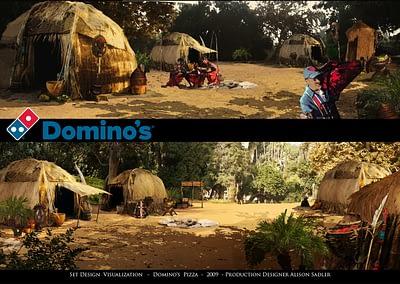 Set Design Visualization - Domino's Pizza - 2009