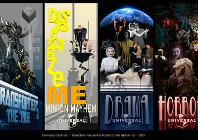 Concept for Universal Movie Poster
