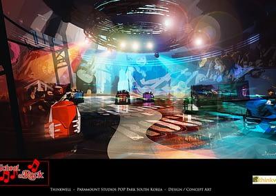 Paramount Studios POP Park South Korea