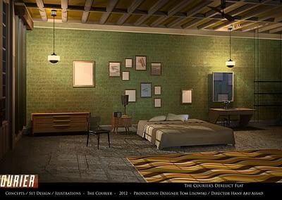 Concepts / Set Design / Illustrations - The Courier 2012